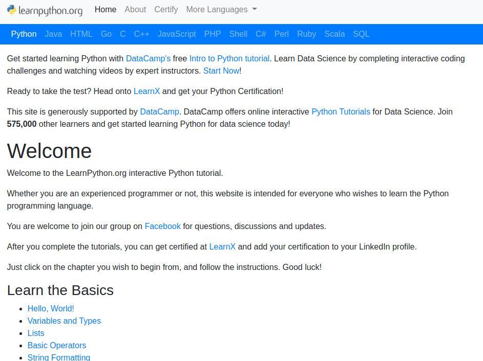 Уроки Python